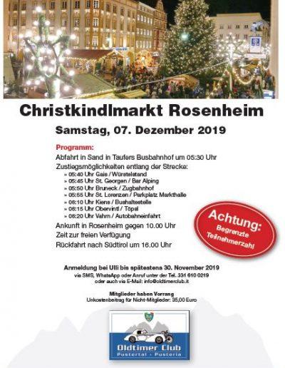 Christkindlmarkt Homepage